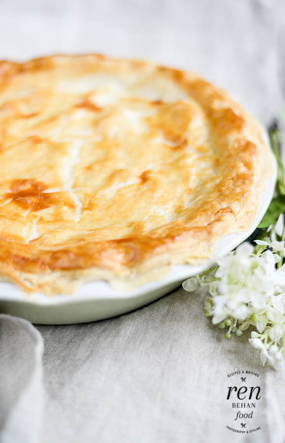 Chicken and Spring Vegetable Pie