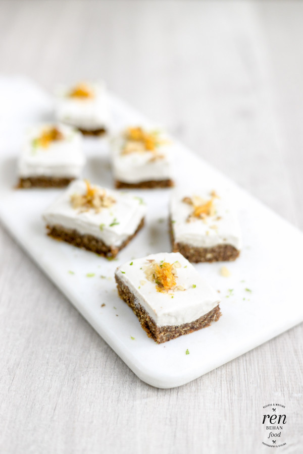 Raw Vegan Carrot Cakes