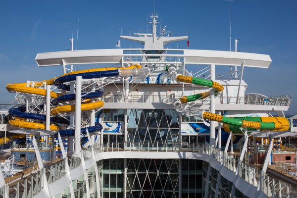 Harmony of the Seas: Credit Royal Caribbean. The Perfect Storm
