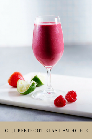 Super Smoothie: The Goji Beetroot Blast