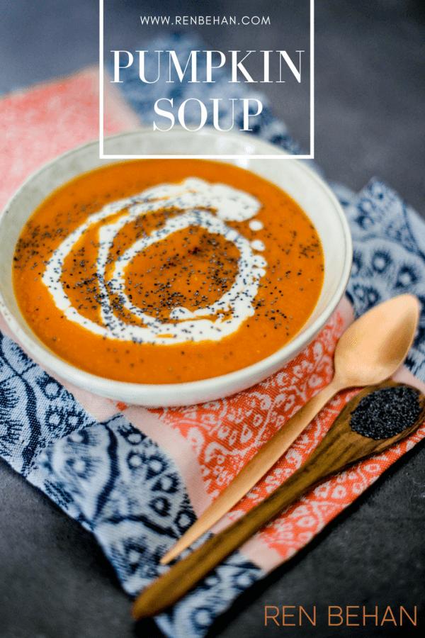leftover pumpkin soup
