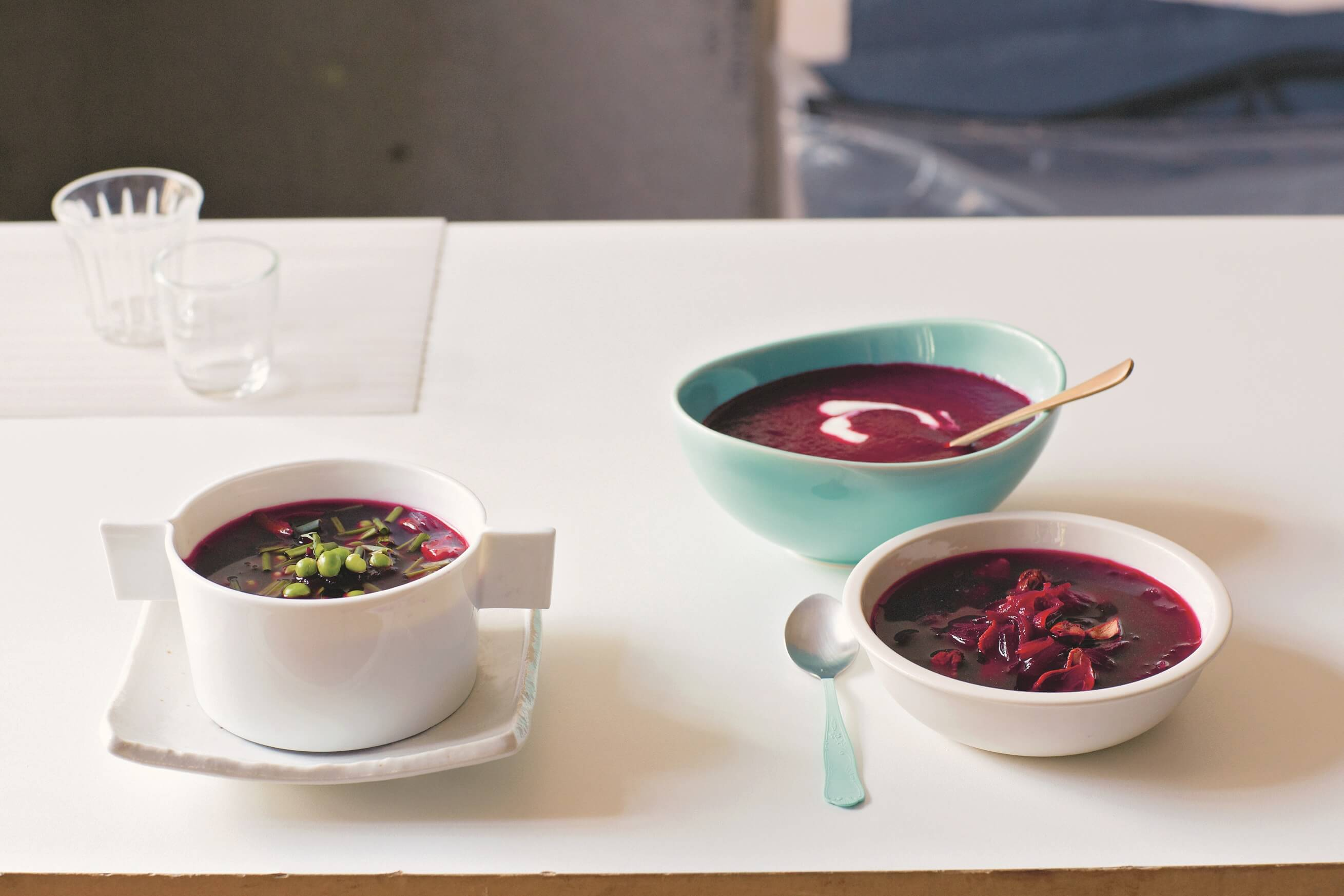 Polish beetroot soup