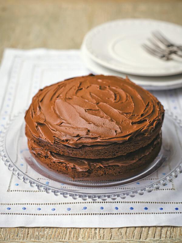 Tana Ramsay Chocolate Fudge Cake