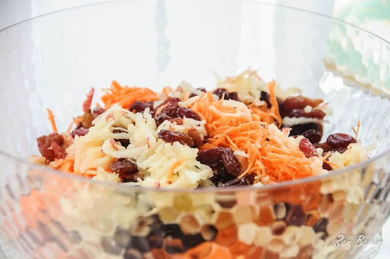 Polish Cake Recipes Uk: Polish Carrot And Apple Salad (Surówka Z Marchewki)