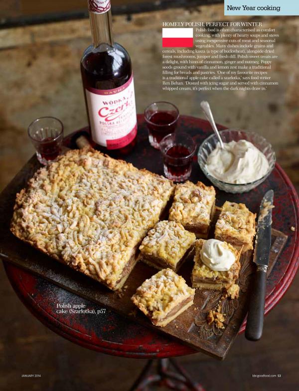 Polish Apple Cake – BBC Good Food Magazine