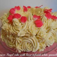 Elderflower Angel Cake