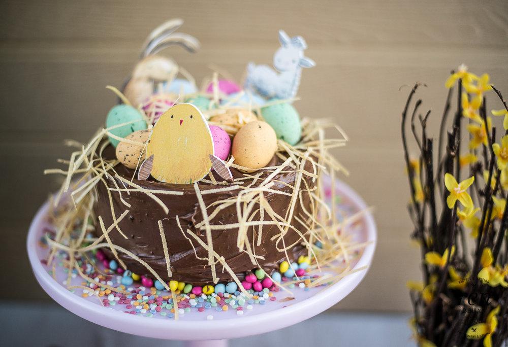 Recipe: Easter Chocolate Cake