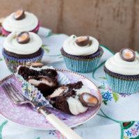 Creme Egg Cupcakes